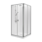 Studio Glide Square Sliding Showers