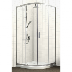 Studio Glide Round Sliding Shower Tile Option