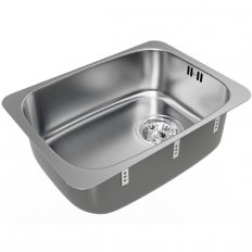 B Range Classic Single Sink Bowls 386x283x125mm Topmount or Undermount