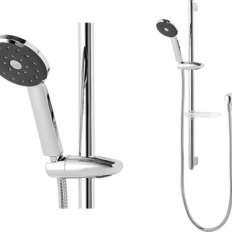Kiri Satinjet Slide Rail Shower