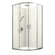 Studio Glide Round Sliding Shower Door Set