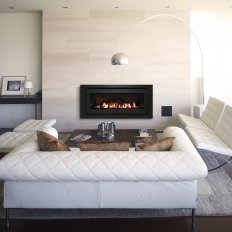 Evolve Gas Fire 1252 with Simple Remote