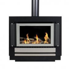 Neo Gas Fire Freestanding Console with Simple Remote