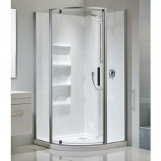 Soul Acrylic Moulded Wall Shower