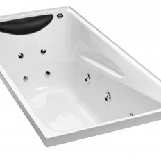 Studio II Rectangular Spa Bath w/o frame (1670 x 760mm)