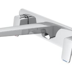Waipori 3 Hole Wall Mounted Faucet