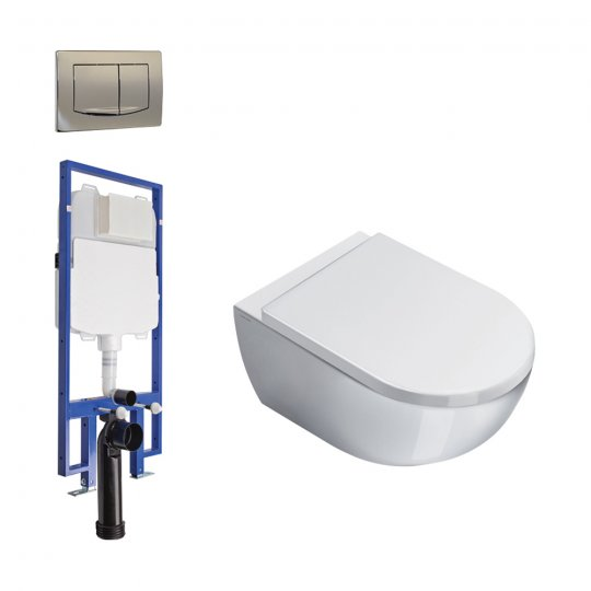 Catalano Sfera 54 Wall Hung Toilet Package ON SALE