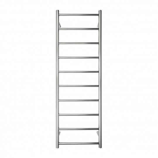 S Shape Concealed Exposed Wiring Heated Towel Rail: Ensuite 10 Bar Round Heated Towel Rail