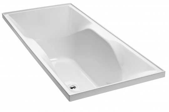 Studio II Symmetrical Rectangular Bath (1800 x 760mm)