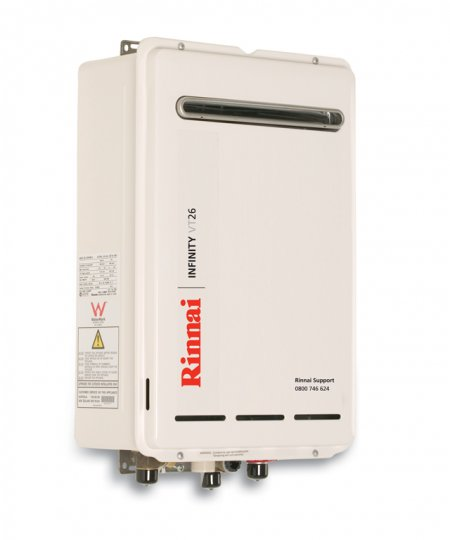 Infinity 174 Vt26 External Continuous Flow Gas Hot Water System