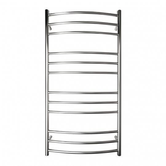Manhattan Curved Round Heated Towel Rail 12 Bar 1180h X