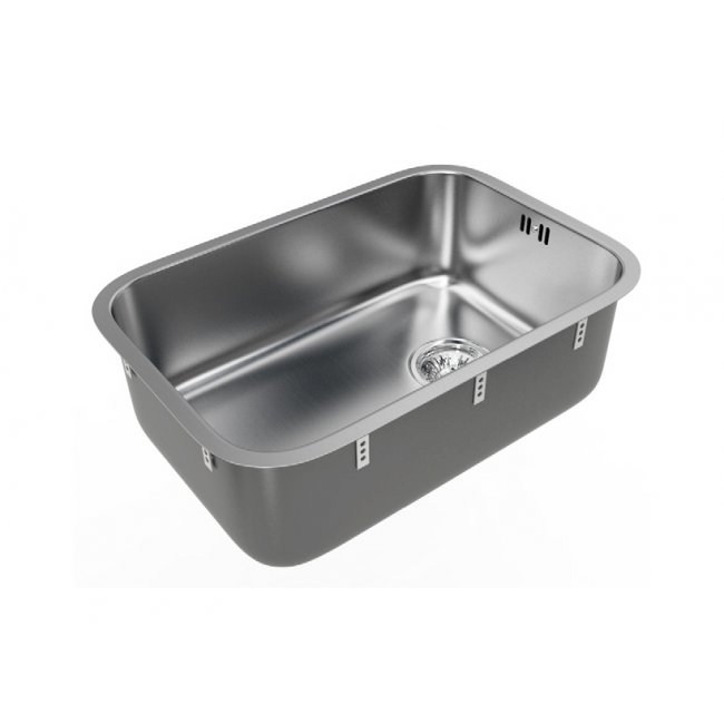 B Range Classic Single Sink Bowls 490x336x165mm Topmount or Undermount