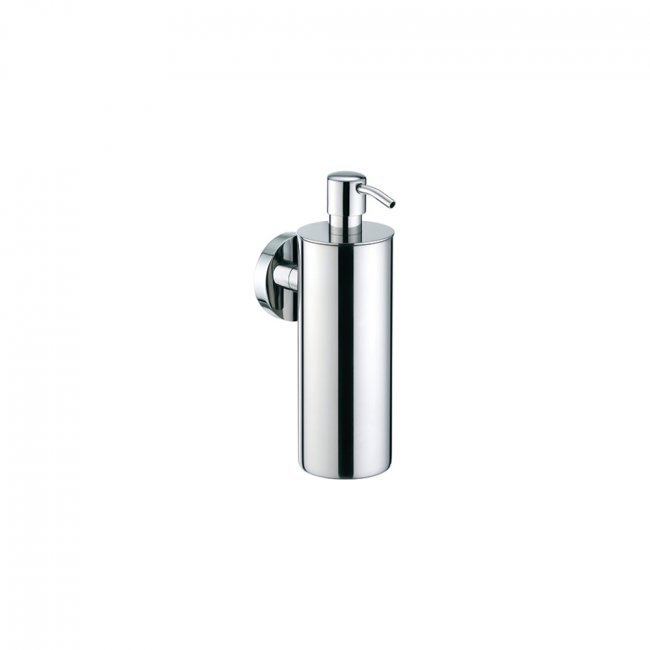 Progetto Tube Wall Mount Soap Dispenser Stainless Steel