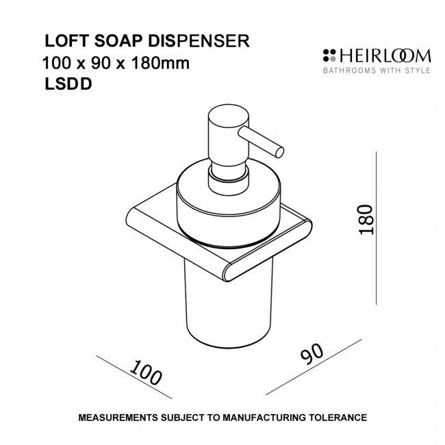 loft soap dispenser