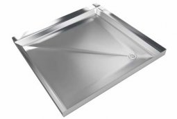 Fabricated Shower Tray 925x925x100mm Corner Waste