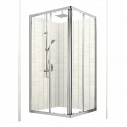 Studio Glide Square Sliding Shower Door Sets