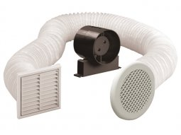 Manrose Classic Shower Fan Kits