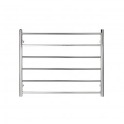 Executive 6 Bar Wide Round Heated Towel Rail