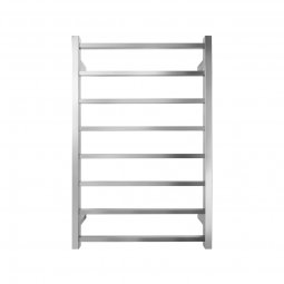 Executive 8 Bar Square Heated Towel Rail