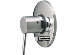 Minimalist Shower Mixer with Divertor