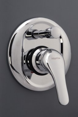 Eco-Smarte Shower Mixer with Bath Divertor All Pressure