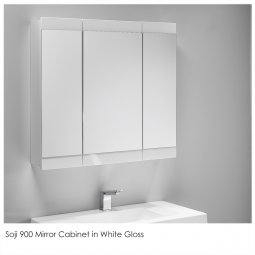 Soji Mirror Cabinet - 900mm