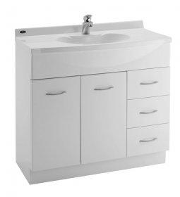 sapphire durastone vanity 900mm single bowl 5 handles - Bathroom Cabinets Nz